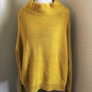 vintage  Ochre Knit Sweater